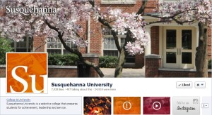 Susquehanna University Facebook page